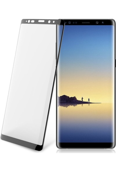 Buff Samsung Galaxy Note 8 5D Glass Cam Ekran Koruyucu