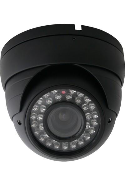 Sapp Ahd3 604S 3Mp 1440P Ahd Full Hd Dome Güvenlik Kamerası 36 Ledli