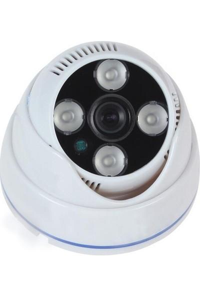 Sapp A1600 072 1600 Tvl 4 Atom Ledli Analog Dome Kamera