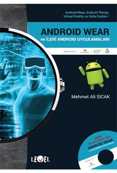 Android Wear Ve İleri Androıd Uygulamaları (Dvd Hediyeli) - Mehmet Ali Sıcak