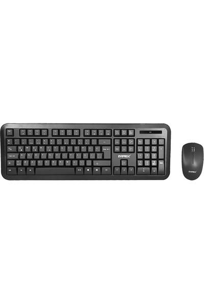 Everest KM - 8100 Ergomy Usb Kablosuz Q Standart Klavye Mouse Set