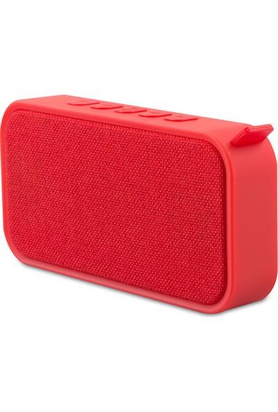 Mikado MD - 55BT Speaker FM Destekli Bluetooth Hoparlör Kırmızı