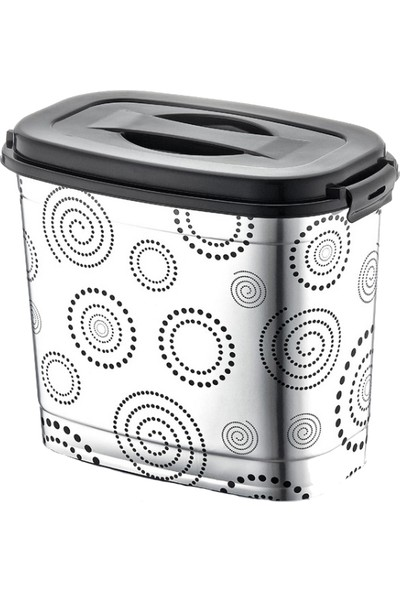 Plastik Dünyası Metalize Deterjan Kovası