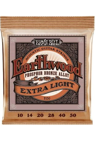 Ernie Ball Ernie Ball P02150 Super Slinky Bronze 10-50 Tel