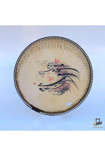 Dest İran Yapımı Resimli Erbane, Daf, Def, Bendir Ndr161