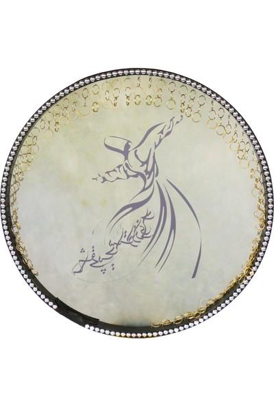 Dest İran Yapımı Resimli Erbane Def Bendir Ndr205