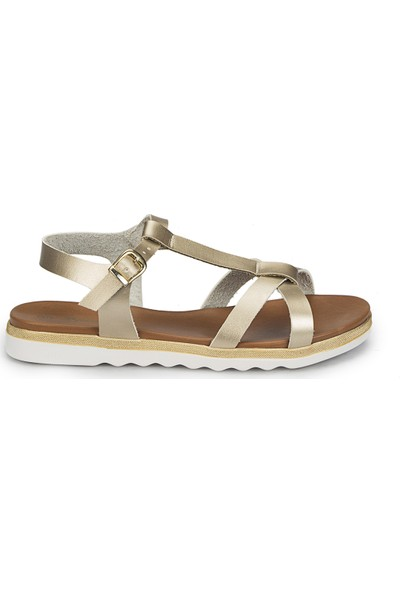 Polaris 81.311491.Z Altın Kadın Sandalet