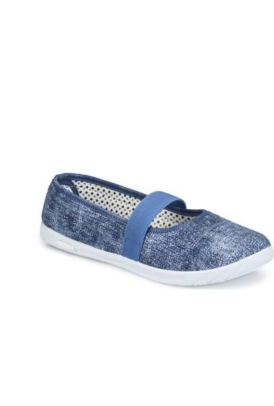 Polaris 81.311582.Z Mavi Kadın Ayakkabı