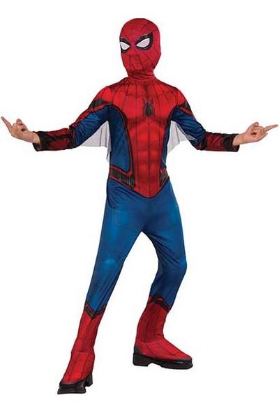 Lisanslı Spiderman Kostüm L Beden 8-10 Yaş