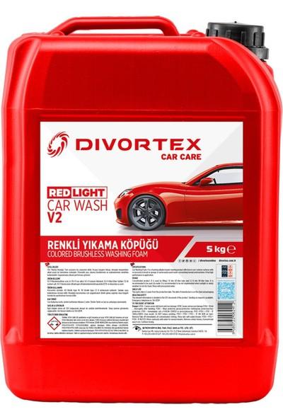 Divortex Car Wash V2 Red Light Fırçasız Yıkama Sıvısı 5 Kg.