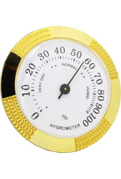 Humidor Puro Kutusu Nemölçer (Higrometre) S-04