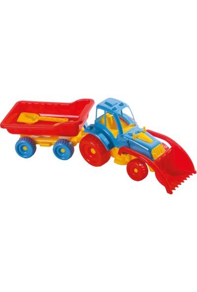 Güçlü Lüks Römorklu Kepçeli Traktör