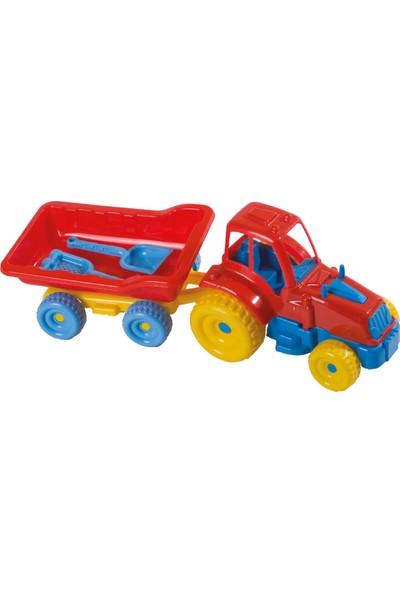 Güçlü Lüks Römorklu Traktör