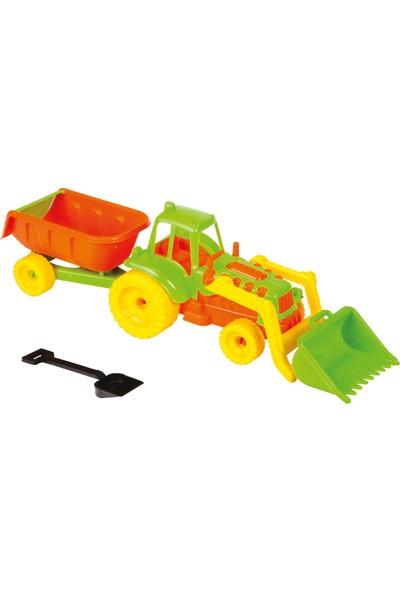 Güçlü Şirin Römorklu Kepçeli Traktör
