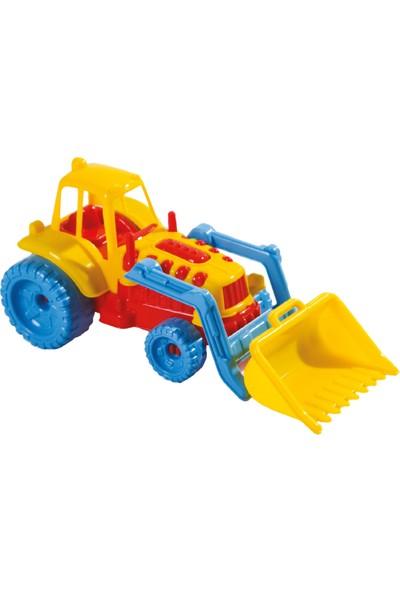 Güçlü Şirin Kepçeli Traktör