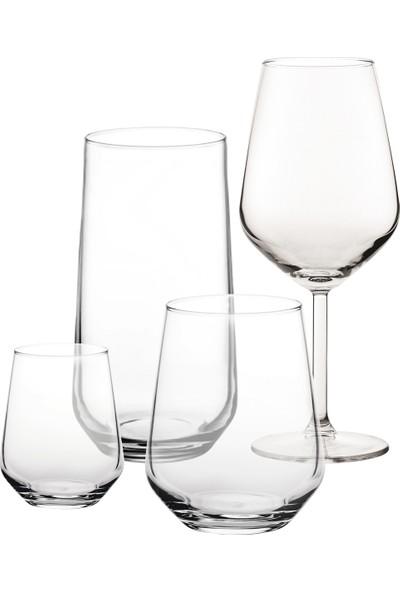Joy Glass Allegra Su Meşrubat Kahve Yanı Kadeh Seti - 24 Parça