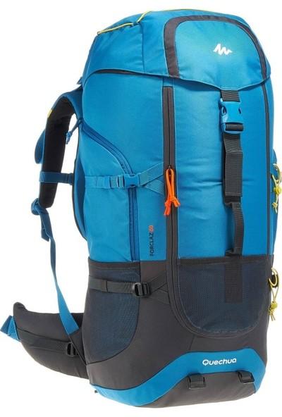 Quechua Forclaz Trekking Sırt Çantası - 60 Litre - Mavi