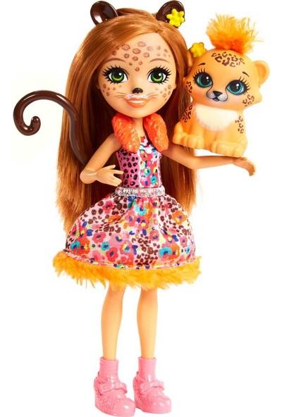 Mattel Enchantimals Bebek Karakter Bebekler Miniş Hayvan Oyuncak Kaplan