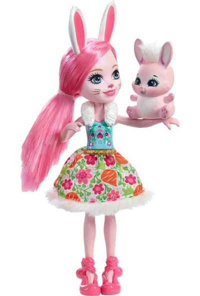Mattel Enchantimals Bebek Karakter Bebekler Miniş Hayvan Oyuncak Tavşan