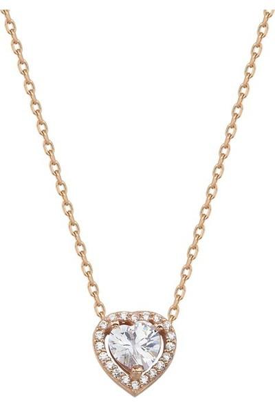 Paljewelry Çok Taşlı Kalp Kolye