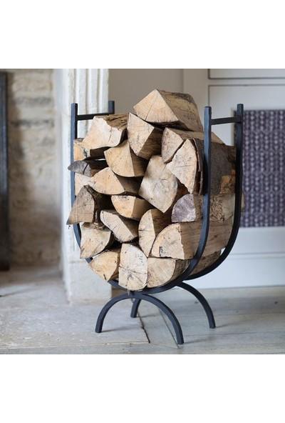 Özşen Dekoratif Metal Şömine Odunluğu