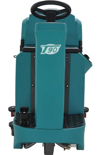 Tvx 90/55 R Binicili Zemin Temizleme Makinesi
