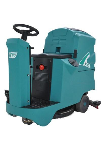 Tvx 90/70 R Binicili Zemin Temizleme Makinesi