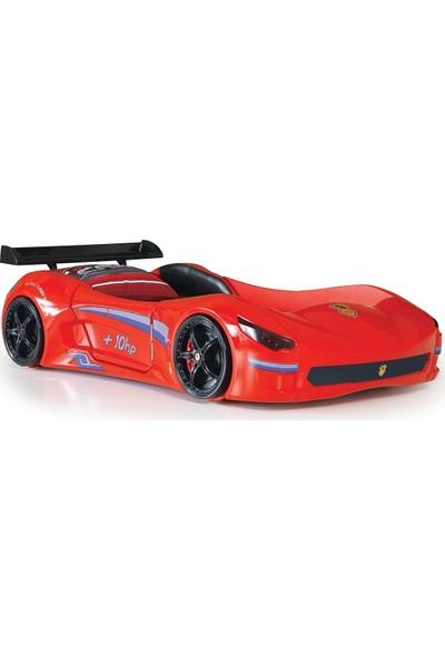 Farinay Cabrio Gtı Racer İç Deri Döşeme Araba Modelli Çocuk Karyolası