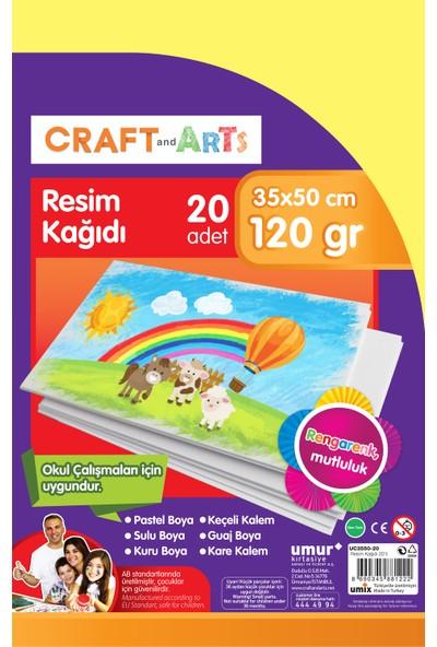Craft And Arts Resim Kağıdı 20'Li 35X50