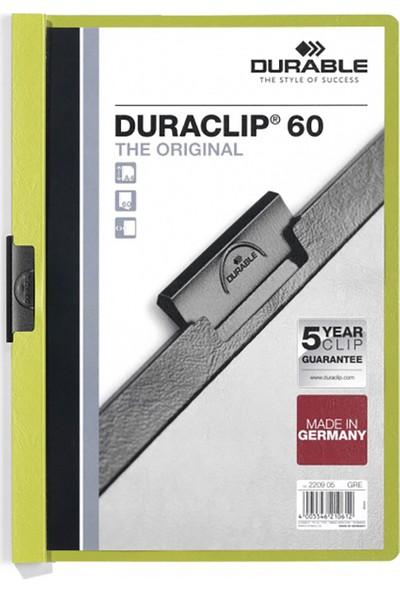 DURABLE DURACLIP Original 60 Sf. Kapasiteli - Yeşil