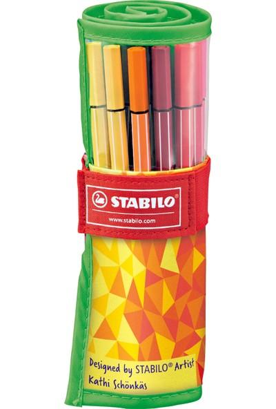 Stabilo Pen 68 Colormatrix Rollerset