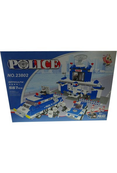 Bricks 567 Parça Polis Seti