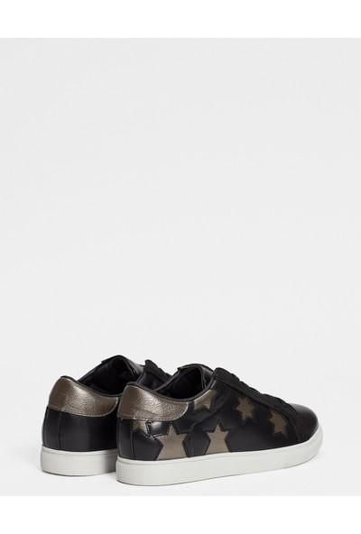 Mavi Erkek Hannah Siyah Ayakkabı