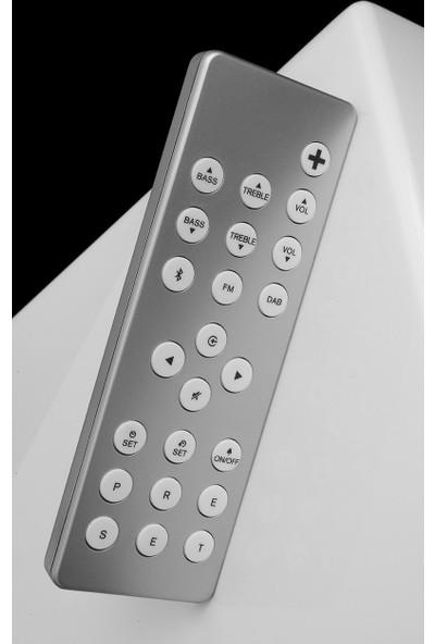 Geneva Classic S Radyolu Bluetooth Hoparlör Parlak Beyaz