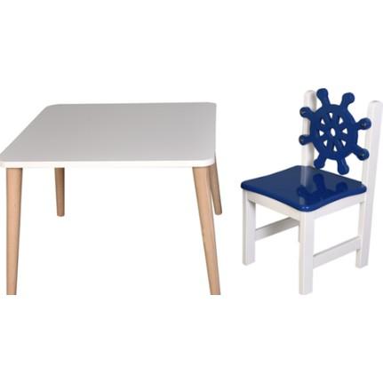 Çocuğun ayağına göre boyutu: masa