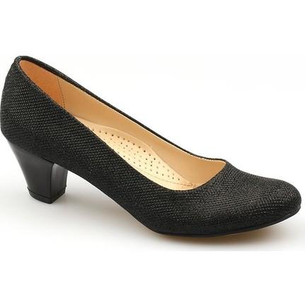 Ccway 300 Simli 5Cm Günlük Bayan Topuklu Ayakkabı