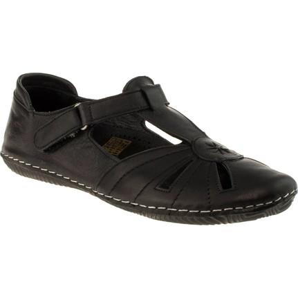 Stella 18100 Tek Cirt Günlük Siyah Kadın Ayakkabı