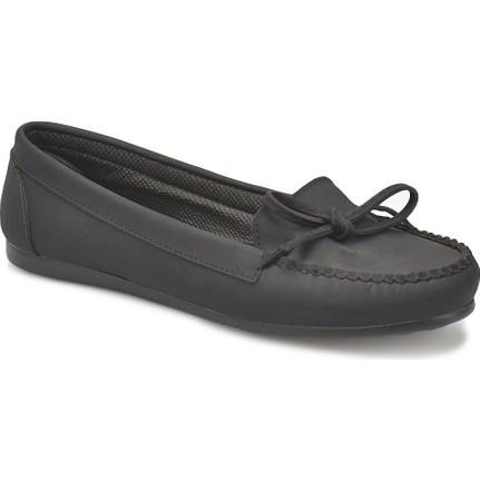 Miss F DS17031-18S Siyah Basic Dress Kadın Günlük Ayakkabı