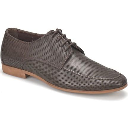 Garamond 318 Kahverengi Erkek Deri Ayakkabı