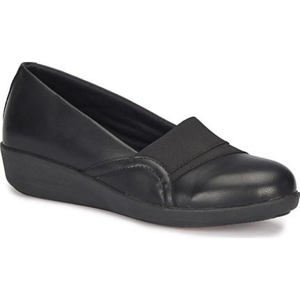 Polaris 72.110026Cz Siyah Kadın Ayakkabı