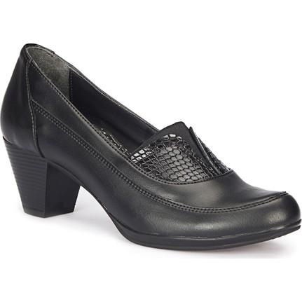 Polaris 72.158171.Z Kahverengi Siyah Kadın Topuklu Ayakkabı