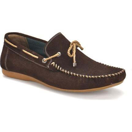 Oxide Bs-1 Kahverengi Erkek Deri Ayakkabı