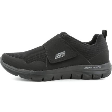 Skechers S52183 Flex Advantage 2.0- Gurn Erkek Günlük Ayakkabı Siyah