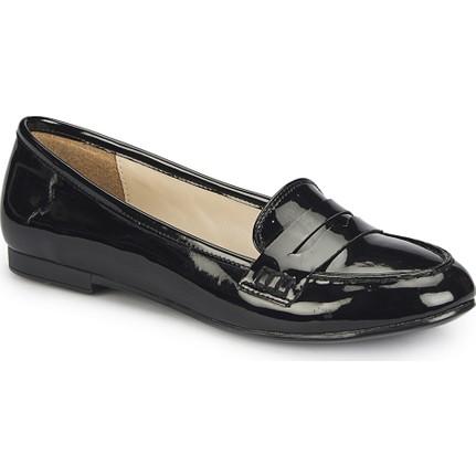 Polaris 81.308250.Z Siyah Kadın Loafer
