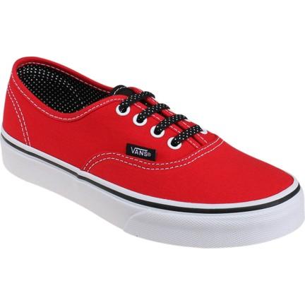 2ad6c1c9b5 Vans Authentic Kırmızı Siyah Unisex Çocuk Sneaker Fiyatı