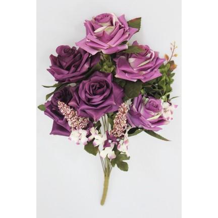 Yapay çiçek Deposu Yapay çiçek Kaliteli 13 Dal Büyük Gül Fiyatı