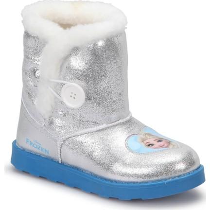 9e6e1b011c3 Frozen Esy Gümüş Kız Çocuk Ugg Bot