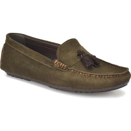bbe8ca8826841 Oxide 310 Haki Erkek Deri Ayakkabı Fiyatı - Taksit Seçenekleri
