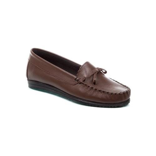 Deristudio CHN410 Kahve Kadın Günlük Ayakkabı