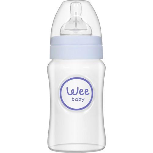 Wee Baby Geniş Ağızlı PP Biberon 250ml Mavi